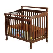 Dream On Me 3-in-1 Portable, Convertible Crib, Day Bed, Twin Bed,Espresso at Kmart.com