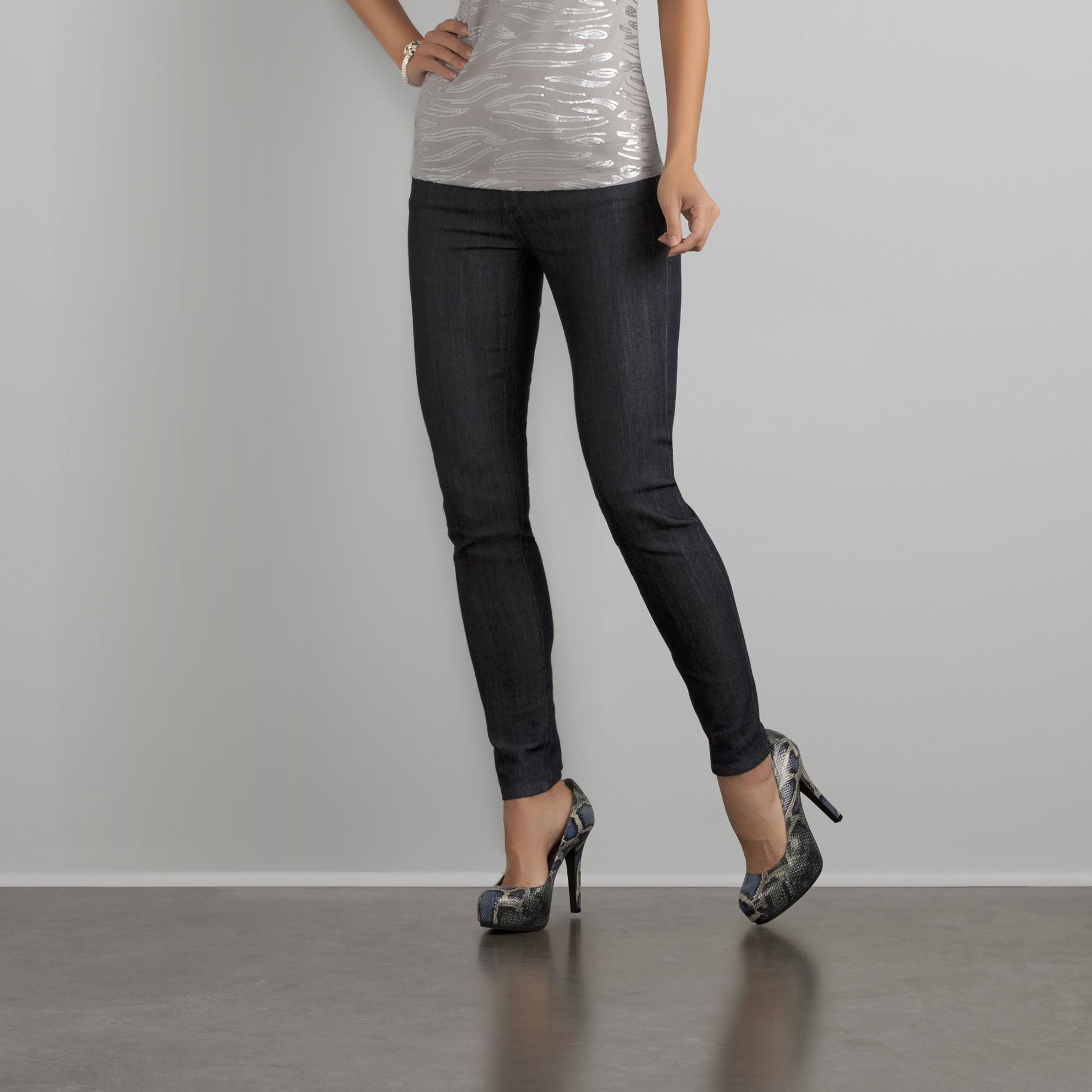 Sofia by Sofia Vergara Women's Five-Pocket Skinny Jeans at Kmart.com