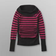 Bongo Junior's Marilyn Neck Striped Sweater at Kmart.com