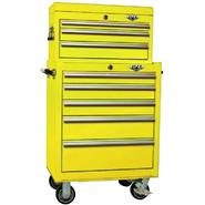 Viper Tool Storage Yellow 26-Inch 8 Drawer 18G Heavy-Duty Ball Bearing 2 Piece Tool Storage - Each item Sold Separately at Sears.com