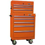 Viper Tool Storage Orange 26-Inch 8 Drawer 18G Heavy-Duty Ball Bearing 2 Piece Tool Storage- Each item Sold Separately at Sears.com