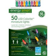 General Electric Christmas Energy Smart 50 LED Miniature Lights Multi at Kmart.com