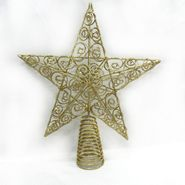 Trim A Home® Wire Star Tree Topper with Glitter Finish at Kmart.com
