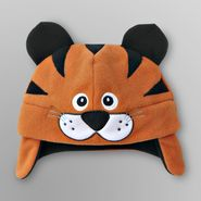 WonderKids Boy's Fleece Critter Hat - Tiger at Kmart.com