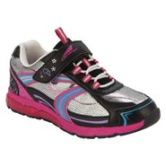 CATAPULT Girl's Cristal Athletic Shoe - Black/Fuchsia at Kmart.com