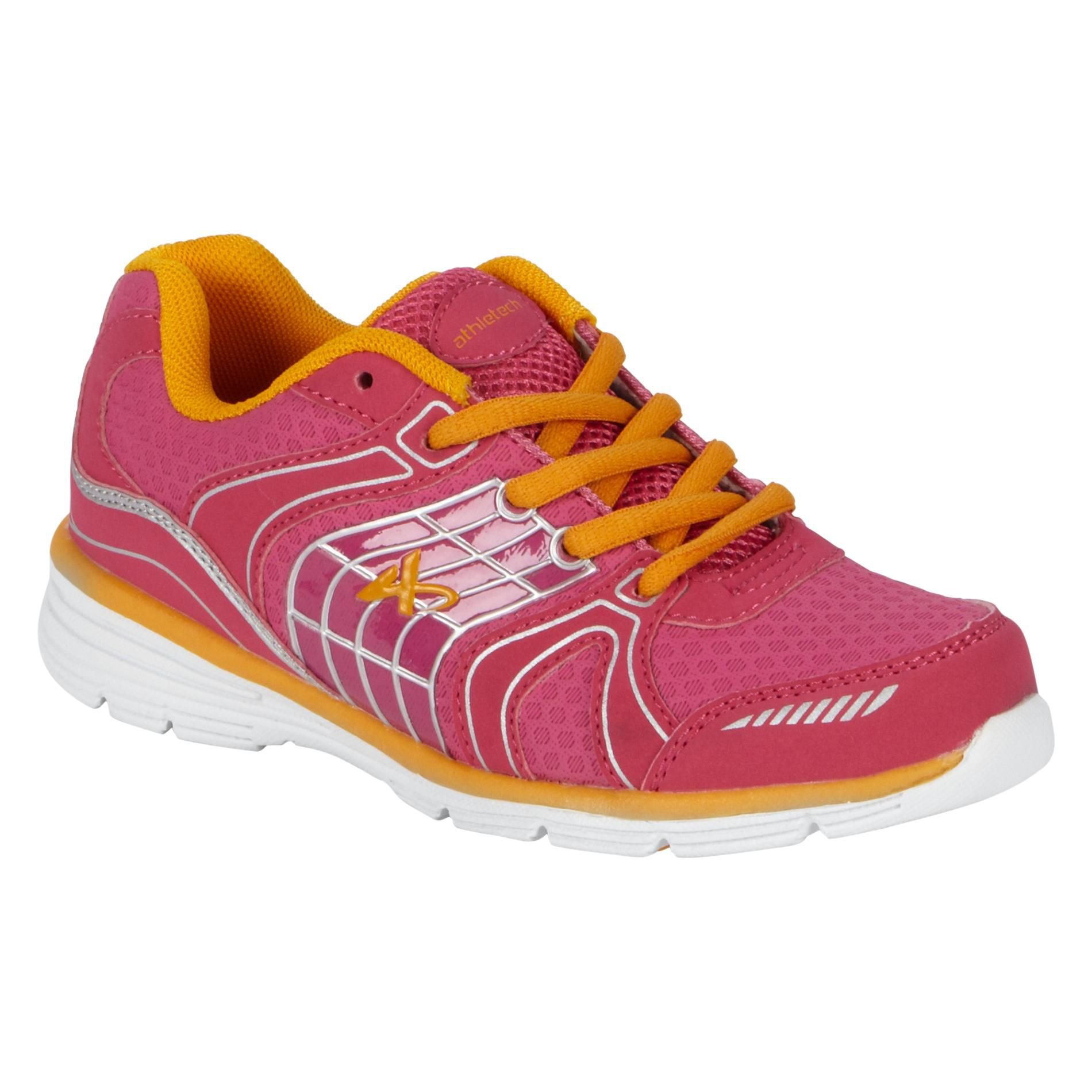 Girl's LuLu Athletic Shoe - Fuchsia - Every