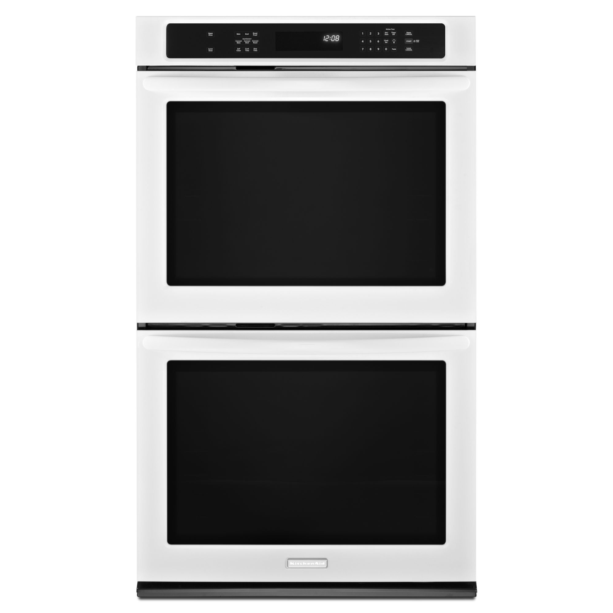 KitchenAid 30 Built-in Double Oven with Even-Heat™ Technology - White