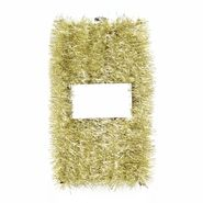 Jaclyn Smith 40 Ft Golden Inspirations Velvet Tinsel Garland - Tiffany Gold Metallic at Kmart.com