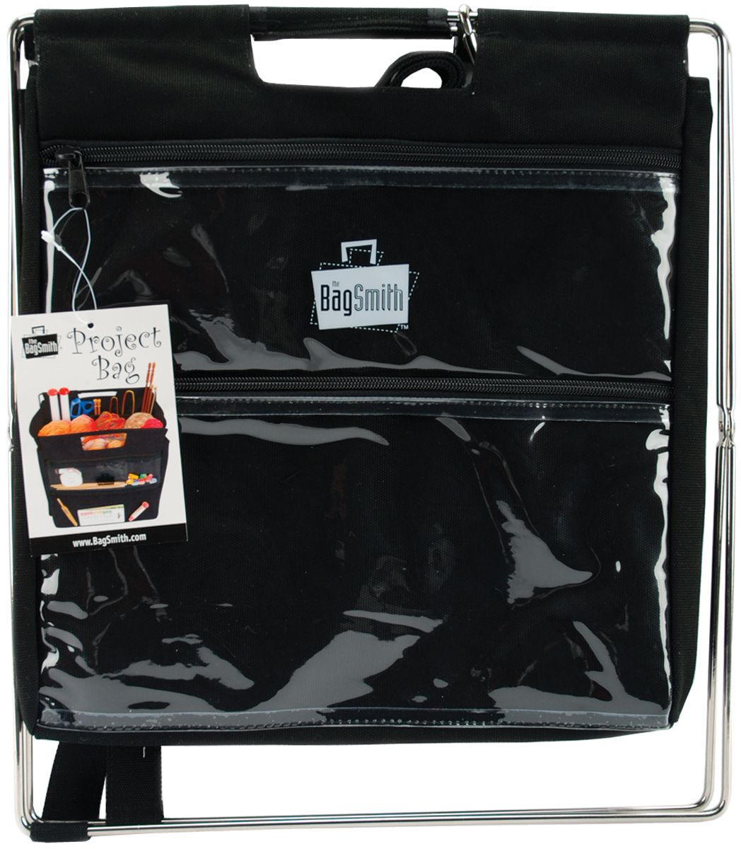 The Bagsmith Bagsmith Black Project Bag Knitting Craft Collapsible Storage Stand PartNumber: 021V005415730000P