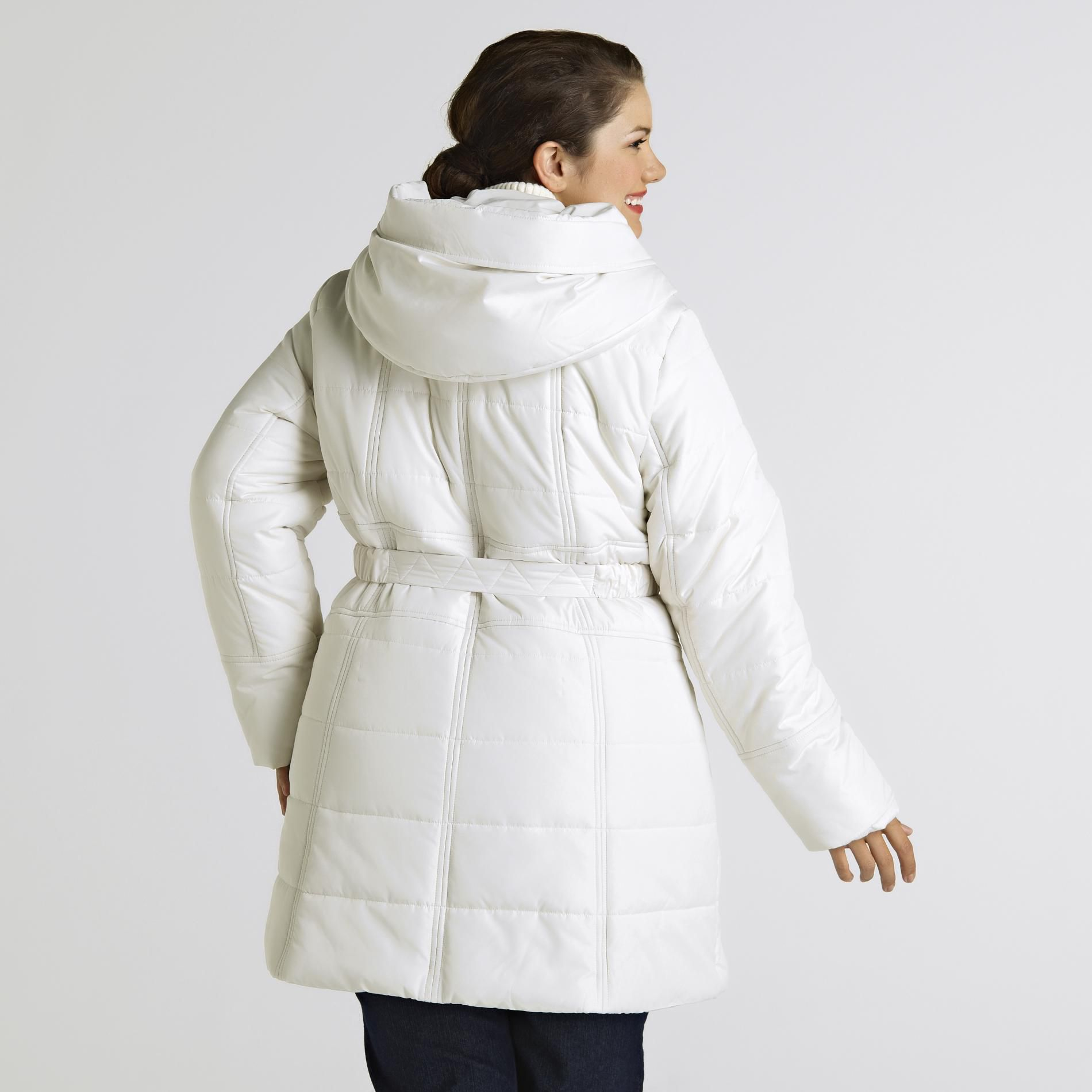 d34b45aa16a Attention Women s Plus Puffer Coat- Clearance