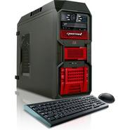 CybertronPC 3.3GHz 16GB DDR3 Kombat-X AMD FX 6100 Hexa Core Gaming PC Red w/2x Radeon HD6670 in CrossFire Windows 7 Home Premium 64-bit at Sears.com