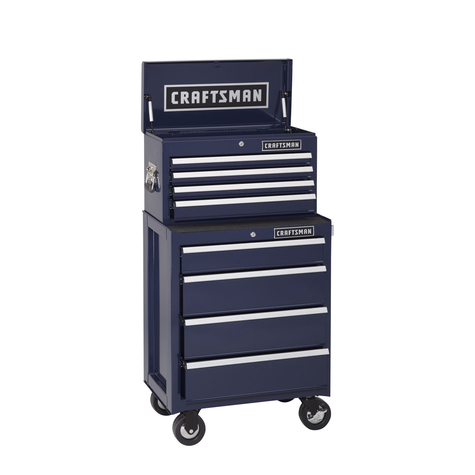 -8-Drawer Ball-Bearing Tool Storage Combo - Midnight Blue