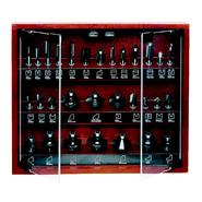 Craftsman 30 pc. Router Bit Set in Wooden Case at Craftsman.com