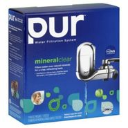 PUR® Chrome Vertical Faucet Mount & 1 Mineral Clear Filter FM-3700 at Kmart.com