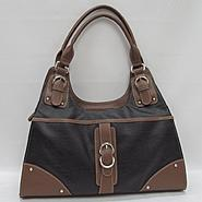 Laura Scott Women's Handbag Helen Two Tone at Sears.com
