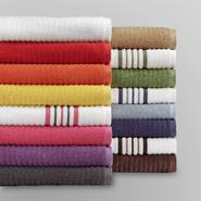 Colormate Textured Quick Dry Bath Towel Collection at Sears.com