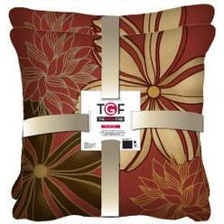 The Great Find 2 pack Artist Flower Dec Pillow - Tan/Brown - Wine Base 18X18 at Kmart.com