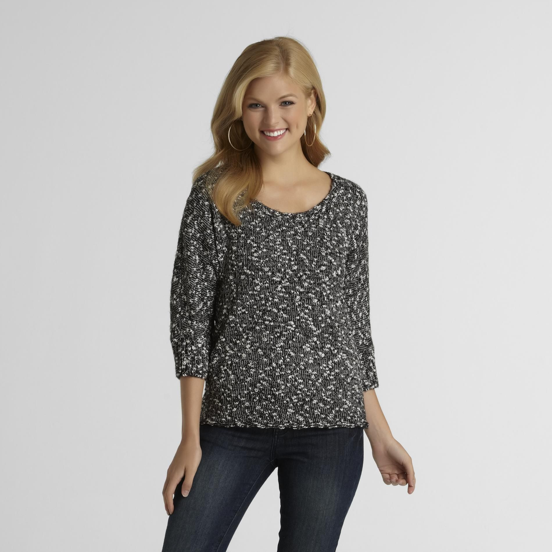 Route 66 Women's Marled Knit Sweater - Clearance at Kmart.com