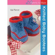 Search Press Books-Knitted Baby Bootees (20 To Make) at Kmart.com