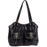 Sag Harbor Women's Handbag Navarino Tote Gator at Sears.com