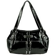 Sag Harbor Women's Handbag Catamount Satchel Royal Crocodile at Sears.com