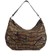 Sag Harbor Women's Handbag Bretton Woods Hobo Nubuck Crocodile at Sears.com
