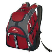 HIGH SIERRA ACCESS CARMINE/CHARCOAL/BLACK BACKPACK at Sears.com