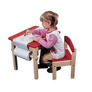 Guidecraft Art Table & Chair Set - Red at Kmart.com