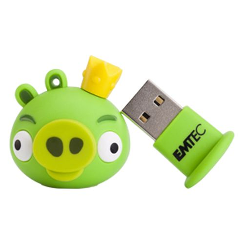 Emtec  4GB Angry Birds USB Flash Drive -