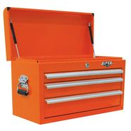 "Viper Tool Storage 26"" 3 Drawer 18G Steel Top Chest, Orange at Sears.com"