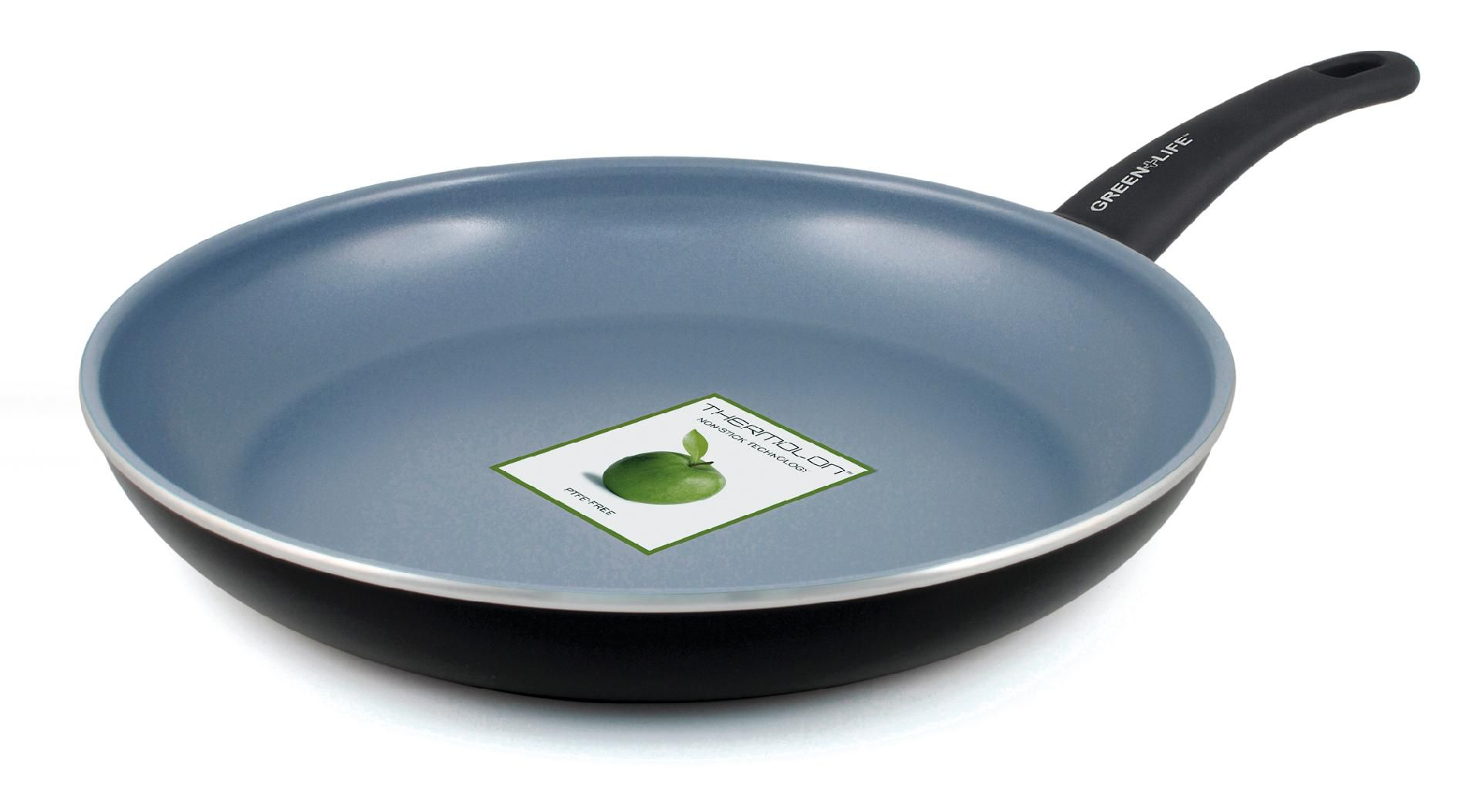 Green+Life 12'' Ceramic Fry Pan