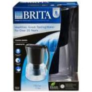 Brita Marina Water Filtration Pitcher, 8 Cups Black at Sears.com