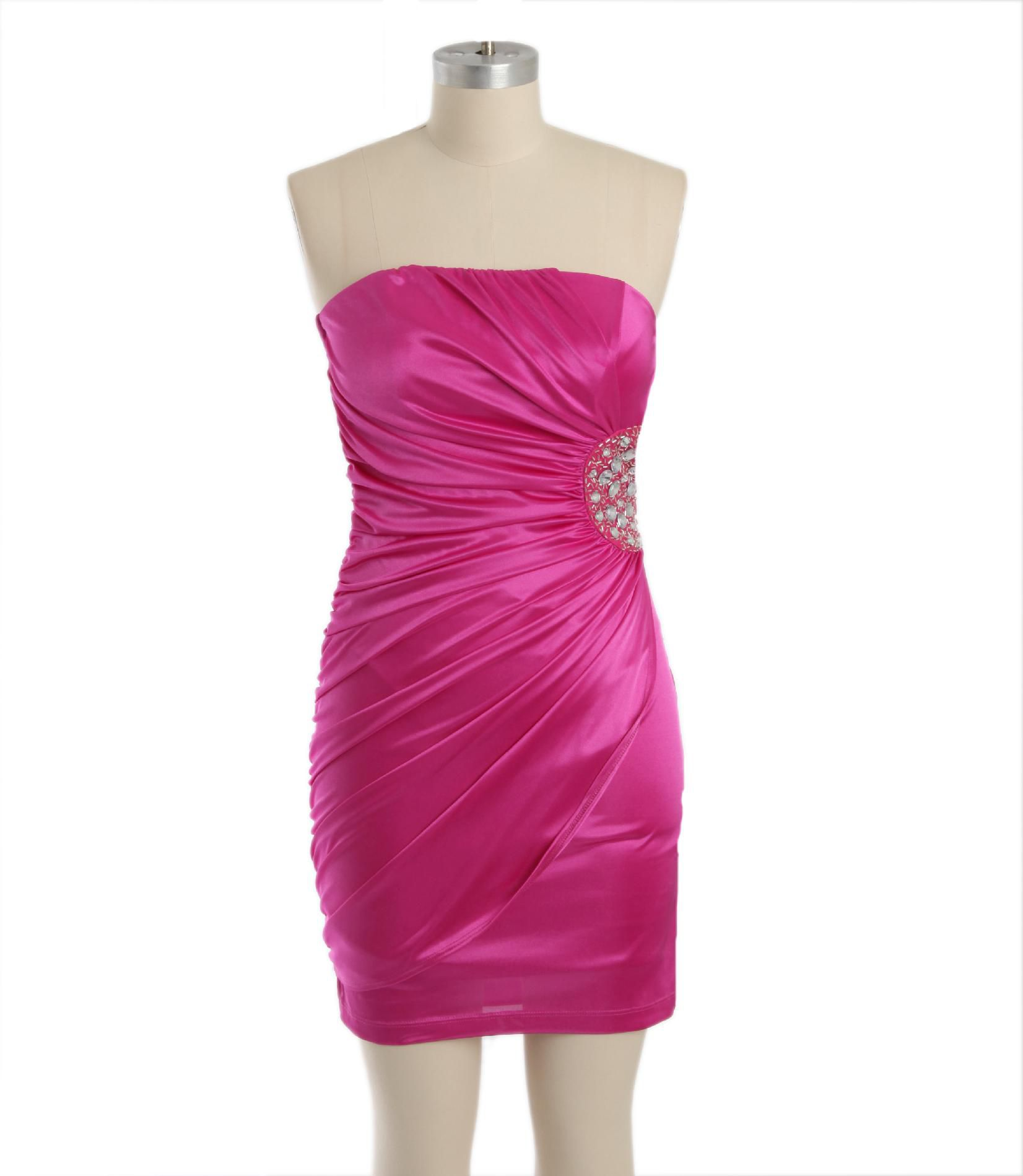 Speechless Junior's Strapless Party Dress - Jeweled at Sears.com