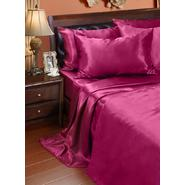 Central Park Faux Silk Solid Sheet Set at Sears.com