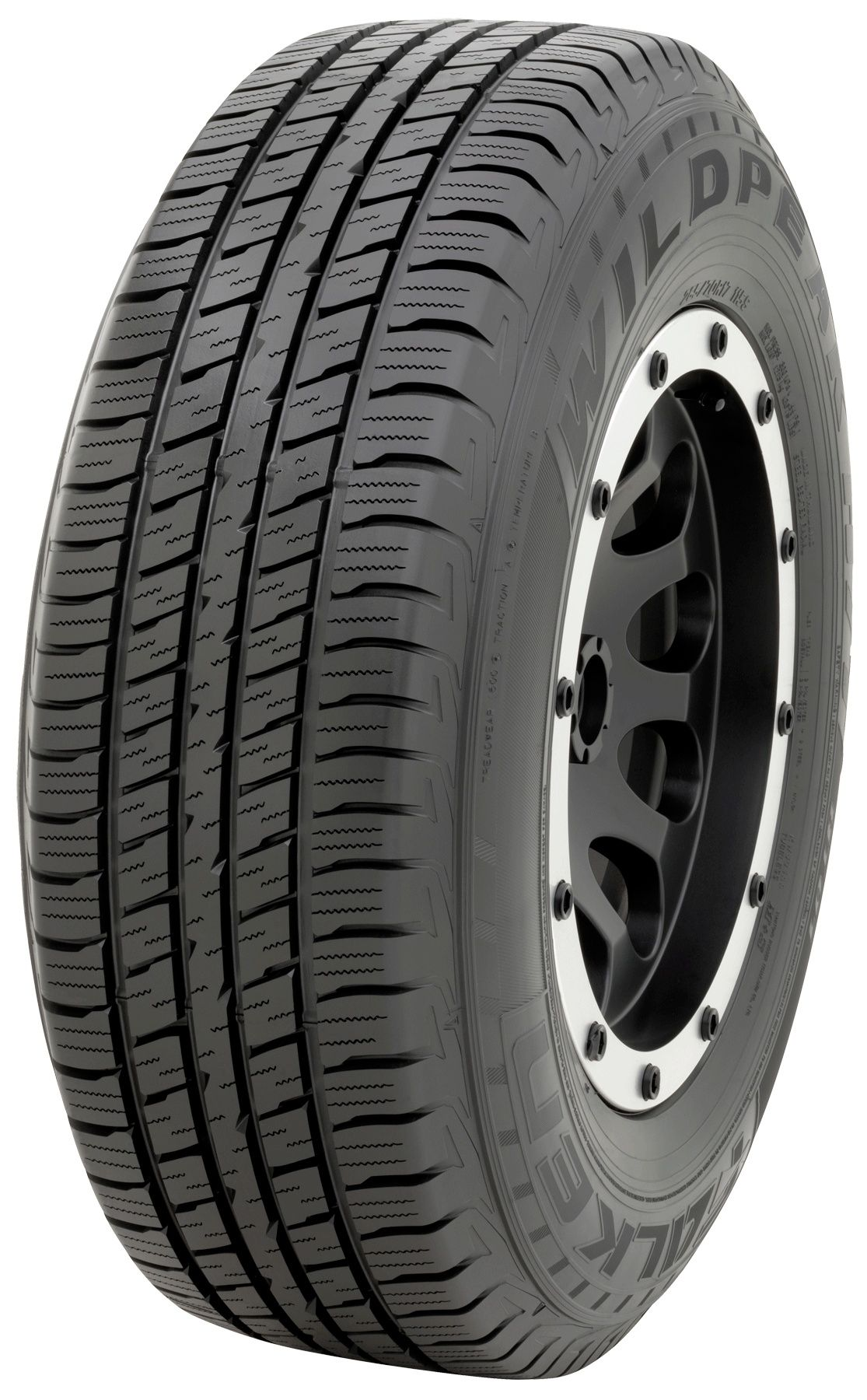 Falken Wild Peak H/T - 265/70R17 121/118S OWL - All-Season LT Tire 265-70-17