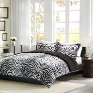 Cozy Nights Zebra Down Alternative Mini Comforter Set at Kmart.com