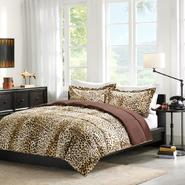 Cozy Nights Cheetah Down Alternative Mini Comforter Set at Kmart.com
