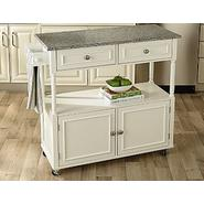 Sandra by Sandra Lee Kitchen Cart - Granite Top at Kmart.com