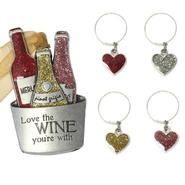 Ladies Night Out Wine Bucket Ornament and Drink Charms Set at Kmart.com