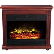 Heat Surge Roll-n-Glow Electric Fireplace  - Cherry at Kmart.com