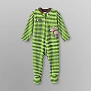 Small Wonders Infant Boy's Footed Pajamas - Christmas at Kmart.com
