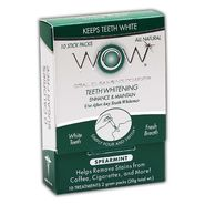 WOW Teeth Whitening Oral Rinse Powder, SPEARMINT,10ct at Kmart.com