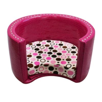 Spoiled Rotten Classic Collection Small Round Pet Bed