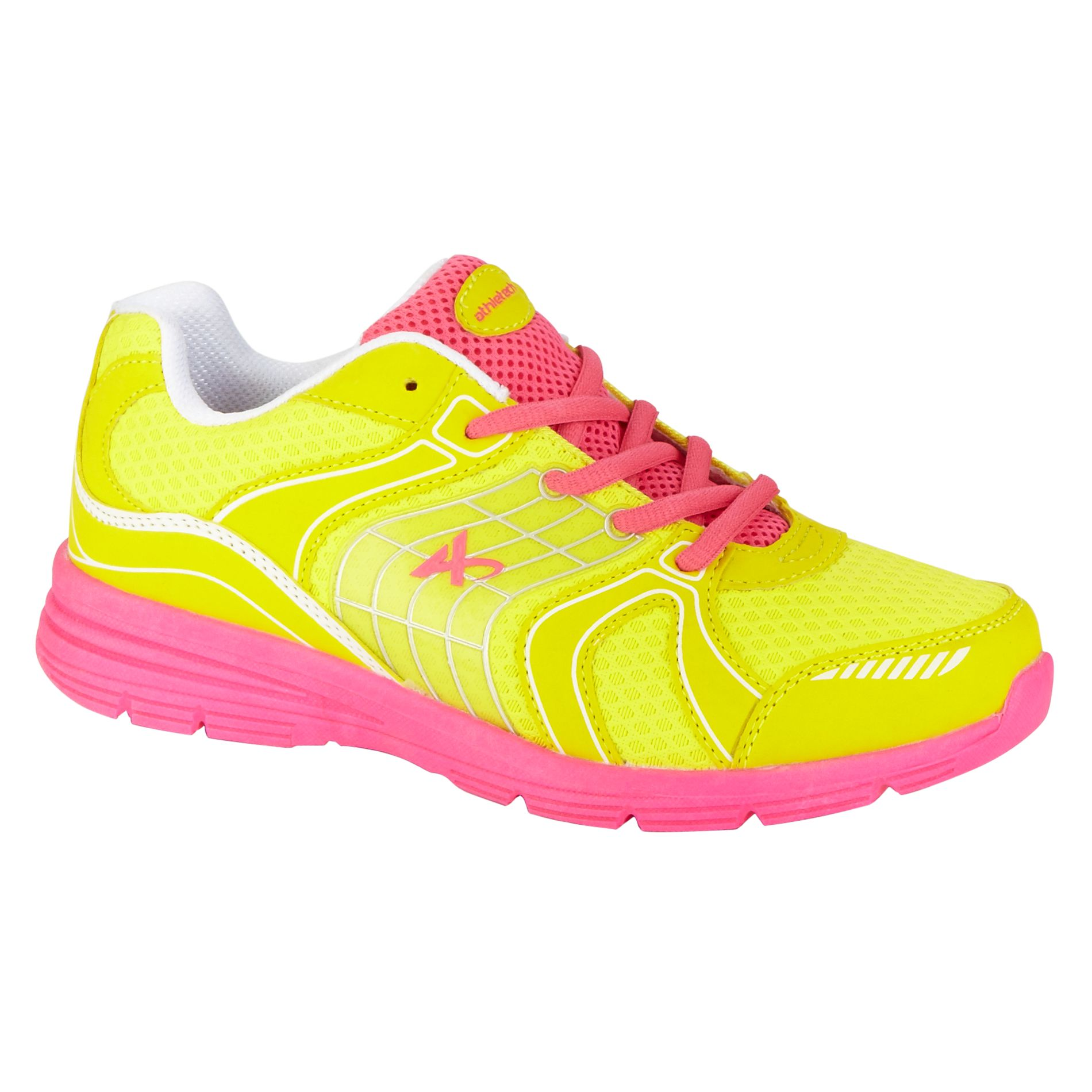 Women's Ath-L Willow Fashion Sneaker - Yellow