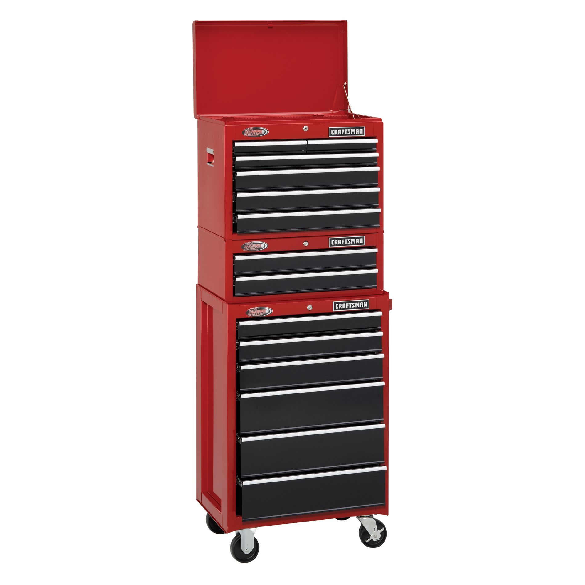 -14-Drawer Heavy-Duty Ball-Bearing Tool Storage - 3 PC