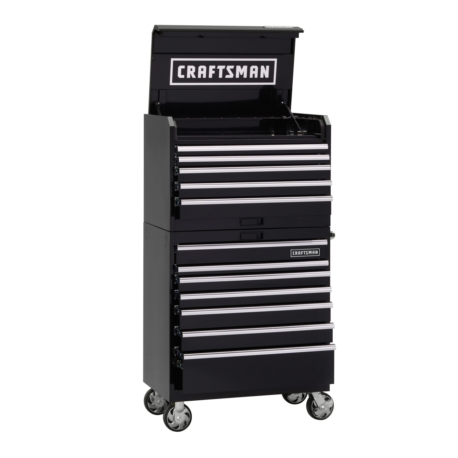 -36-Inch 12-Drawer Industrial Grade Tool Storage Combo
