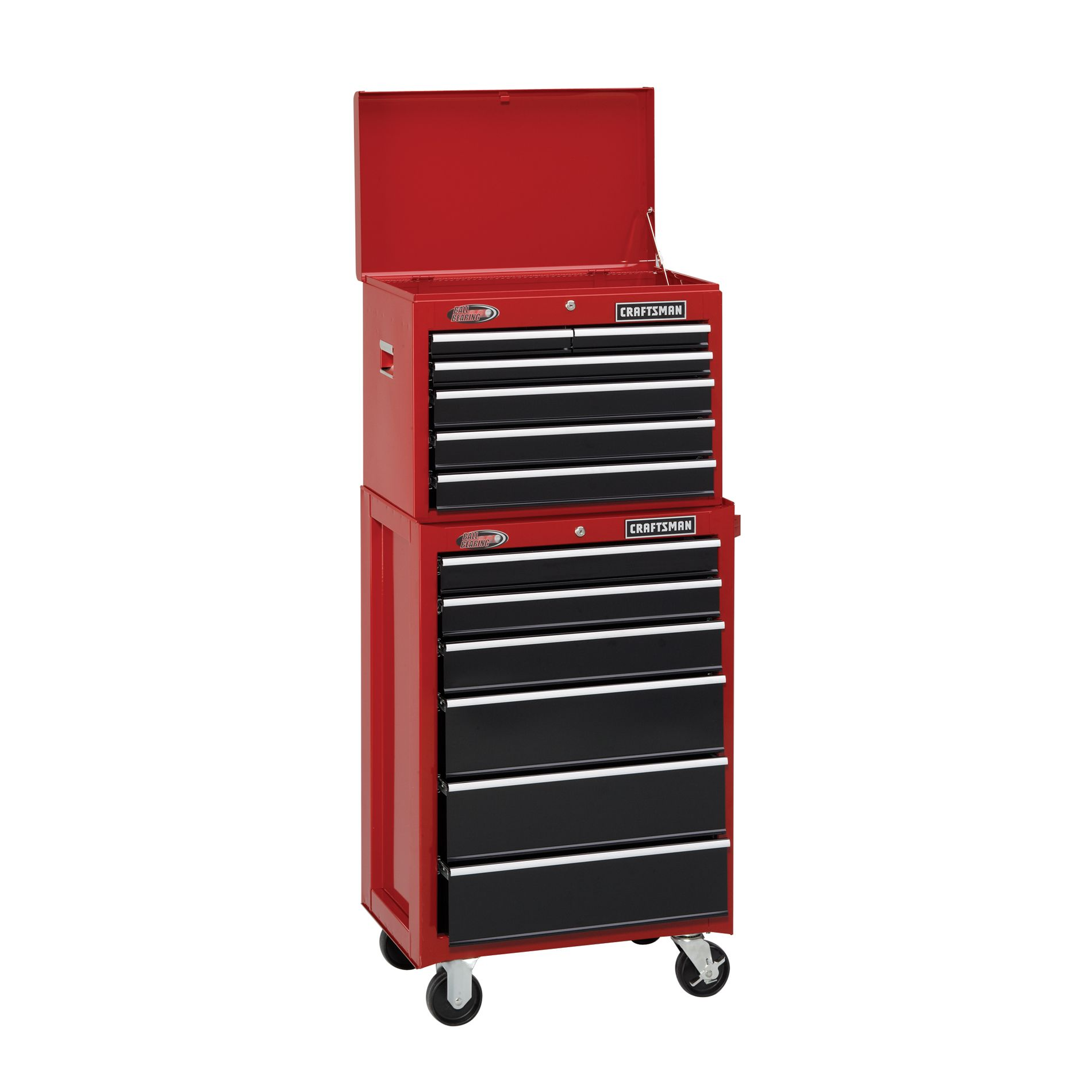 -12-Dwr Heavy-Duty Ball-Bearing Tool Storage Combo