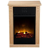 Heat Surge Accent Electric Fireplace - Light Oak at Kmart.com