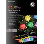 General Electric Christmas Light Diamond 36 LED Color Changing Light Show at Kmart.com