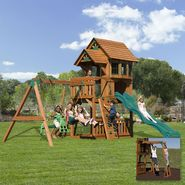 Backyard Discovery Windsor II Swing Set - Free Delivery! at Sears.com